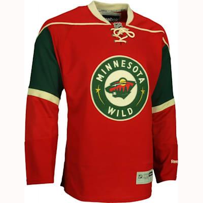 big sale c551d 60c88 Reebok Minnesota Wild Authentic Jersey - Mens | Pure Hockey ...