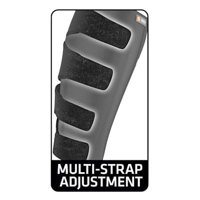 Multi-Strap Adjustment (Shock Doctor 857 Calf & Shin Wrap Supporter - Senior)