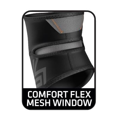 Comfort Flex Mesh Window (829 Elbow Compression Sleeve with Compact Coverage - Senior)