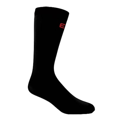 Black (Pro Liner Knee Length Coolmax Socks - Youth)