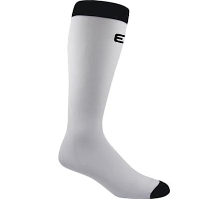 White (Pro Liner Knee Length Coolmax Socks - Adult)