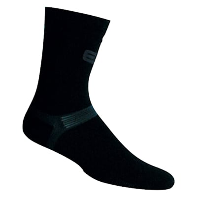 Black (Pro X700 Ultra Bamboo Mid Calf Hockey Socks - Adult)