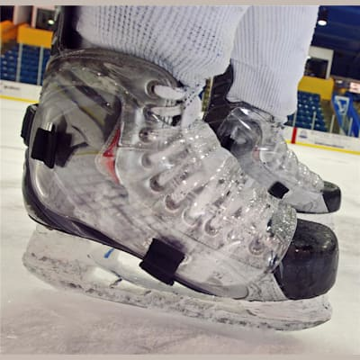 As Seen On Players Across The Country (Pro Transparent Hockey Skate Guards)