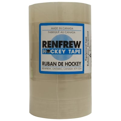 Clear (Renfrew Hockey Shin Tape - 6 Pack - Clear)