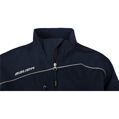 Collar Detail (Bauer Lightweight Warm-Up Jacket - Youth)