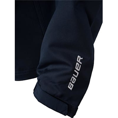 Sleeve Logo Detail (Bauer Lightweight Warm-Up Jacket - Youth)