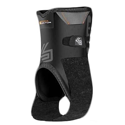 Black (Shock Doctor Ankle Stabilizer with Flexible Support)