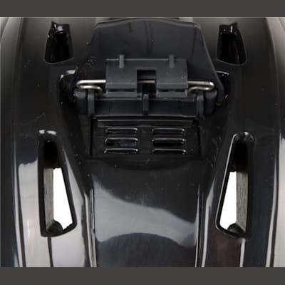 Back Size Adjustment & Vents (Bauer RE-AKT Hockey Helmet)