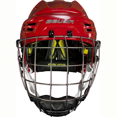 Bauers Best Helmet On Their Line (Bauer RE-AKT Hockey Helmet w/Cage)