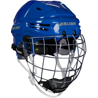 Blue (Bauer RE-AKT Hockey Helmet w/Cage)