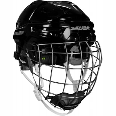 Black (Bauer RE-AKT Hockey Helmet w/Cage)