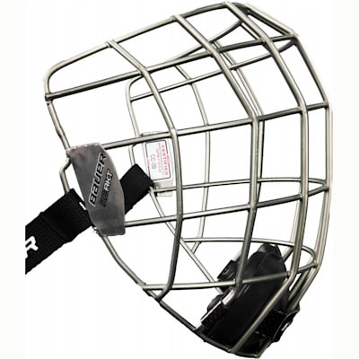 Lightweight Titanium Construction (Bauer Re-AKT Titanium Facemask)