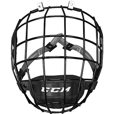 Front View (CCM 580 Facemask)