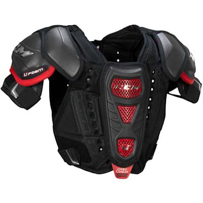 "CL ice hockey shoulder pads Senior small s chest 34""-38/"" New CCM Crazy Light U"