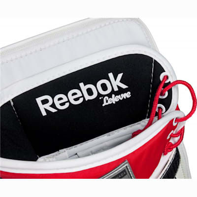 Detatched Cuff Allows For Great Wrist Mobility (Reebok Premier 4 Pro Goalie Blocker - Intermediate)