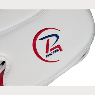 Logo Embroidery (Reebok Premier 4 Pro Goalie Blocker - Intermediate)