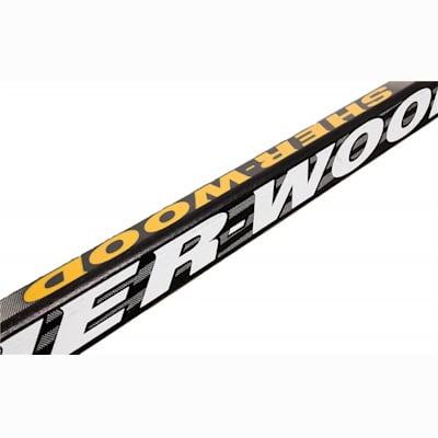 Multi-Layer Birch Lamination (Sher-Wood T10W Wood Stick - Junior)