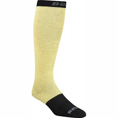 Black (Bauer Elite Perfomance Skate Socks - Adult)