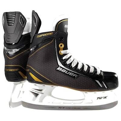 definido Asombrosamente Dedicar  Nike Bauer Supreme One05 Ice Hockey Skates Review - Just Me and Supreme