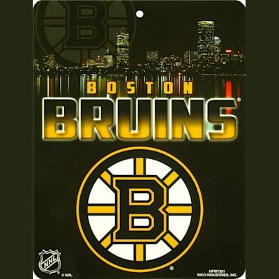 Boston Bruins (NHL Team Plastic Wall Sign)