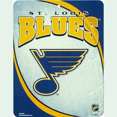 St. Louis Blues (NHL Team Plastic Wall Sign)