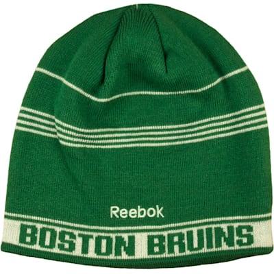 e7d3a1378 Reebok Boston Bruins St. Patrick's Day Skully Knit Winter Hat | Pure ...