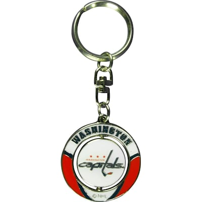 Enamel Coloring (NHL Spinner Keychain)