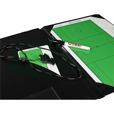 Everything You Need To Stay Organized (Fox 40 Pro Coaching Lacrosse Folder Kit)