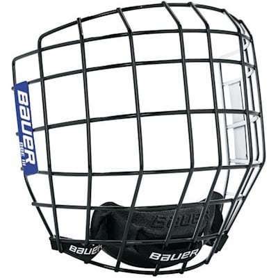Black/White (Bauer RBE III Facemask - Junior)