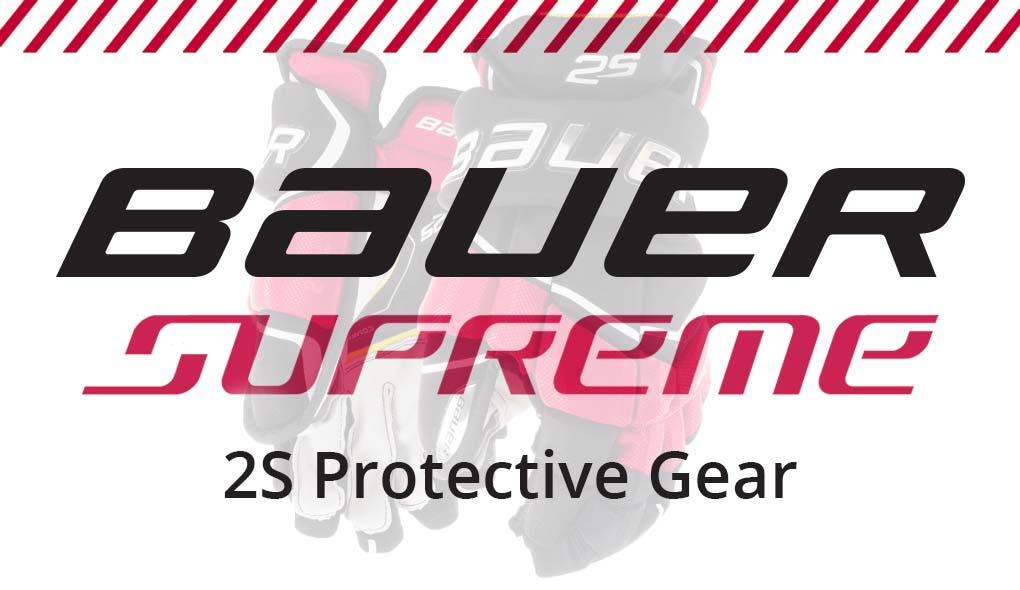 Bauer Supreme 2S Protective Gear