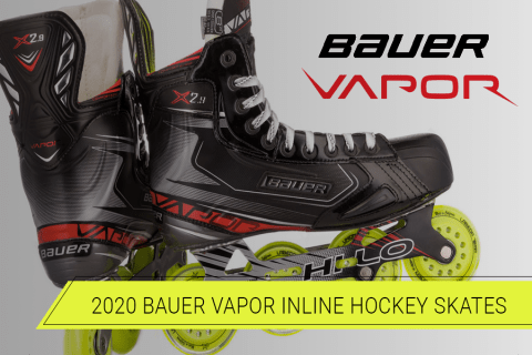 Introducing the 2020 Bauer Vapor Inline Hockey Skates