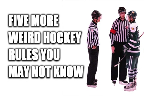 5 MORE Weird Hockey Rules You May Not Know