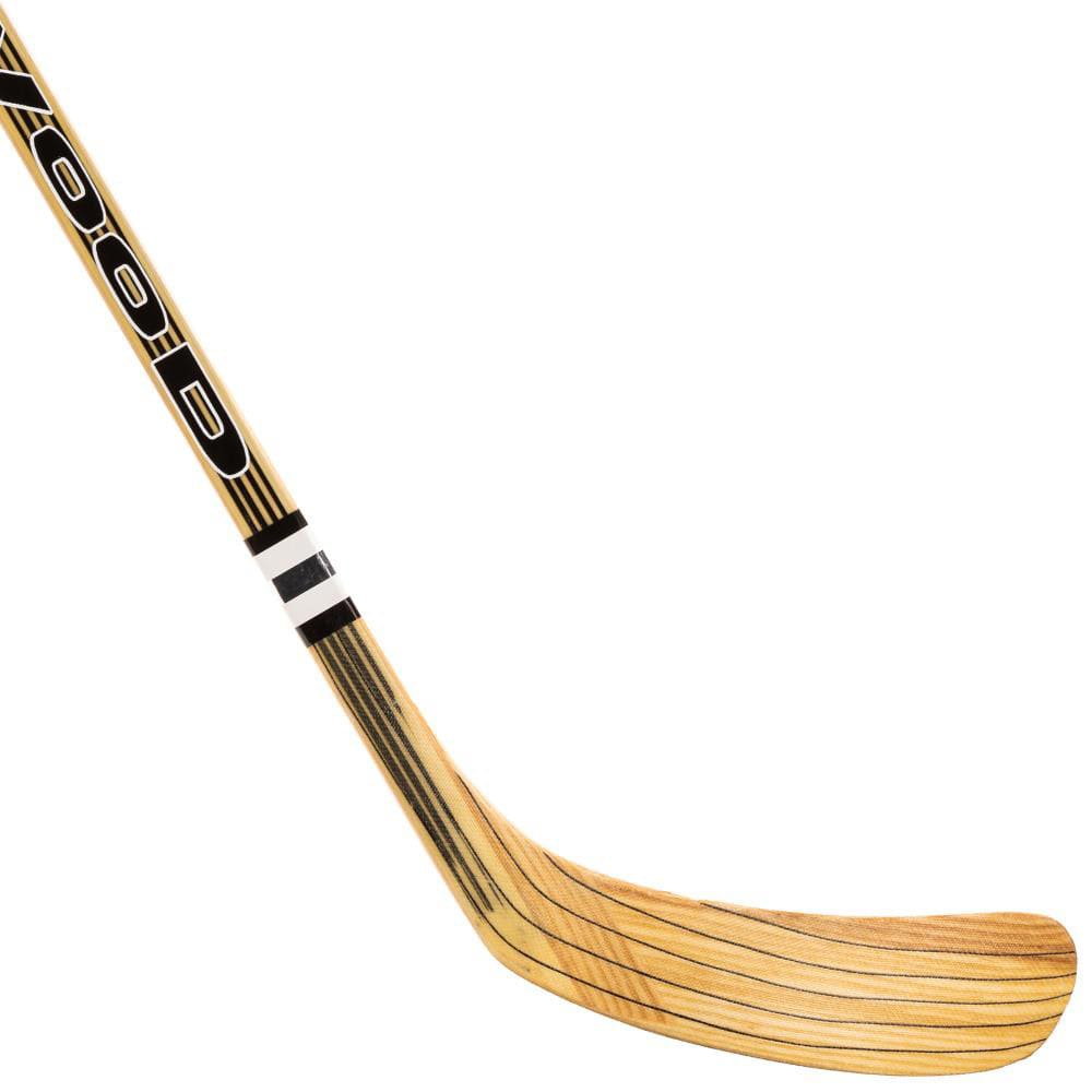 wood hockey stick