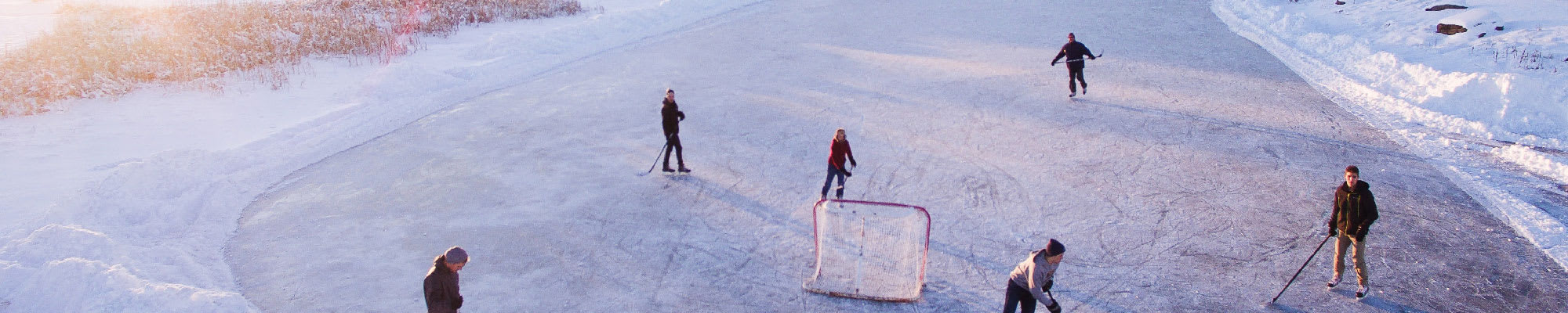 A Pick-up Hockey Game