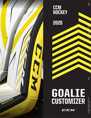 CCM Axis Goalie Custom Options