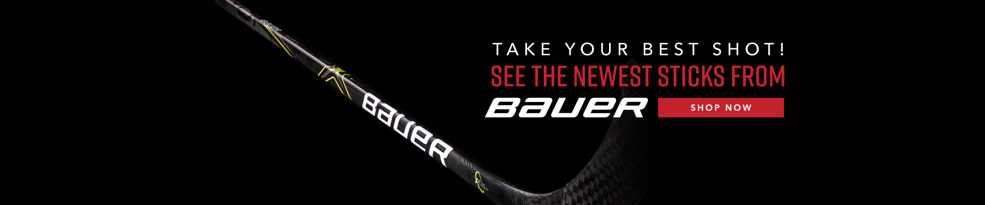 Shop New Sticks From Bauer