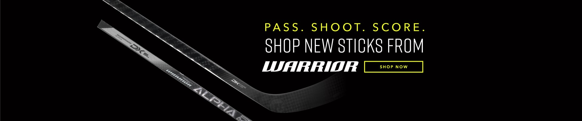 Shop New Sticks From Warrior