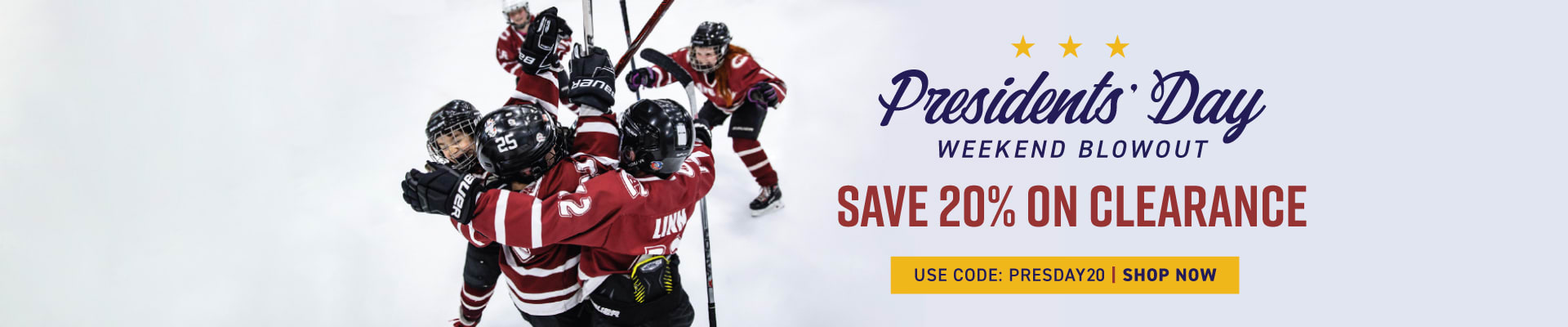 Shop President's Day Sale