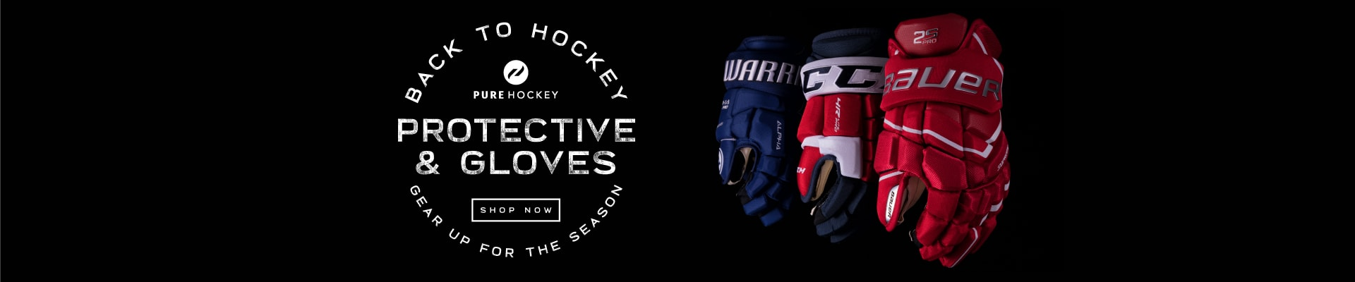 Back To Hockey - Gloves And Protective