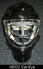 HECC Cat-Eye hockey goalie mask