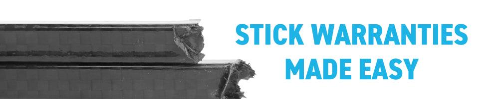 Stick Warranties Banner