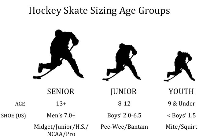 Bauer Skate Size To Shoe Size.Bauer Nsx Ice Hockey Skates Senior
