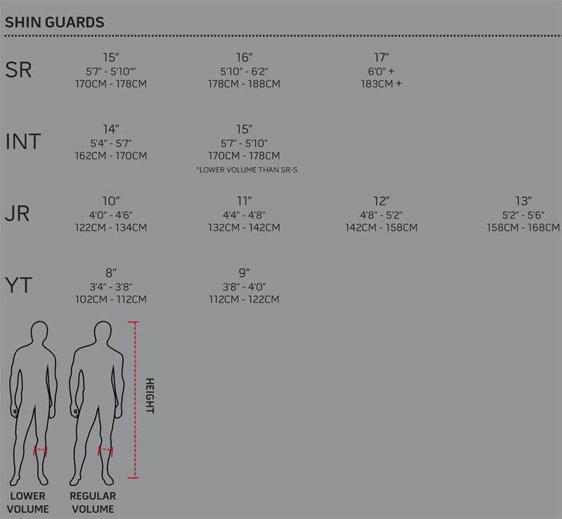 Warrior Hockey Shin Guard Sizing, Warrior Hockey Shin Guards