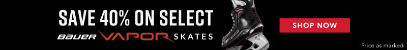 Save on Select 40% Vapor Skates