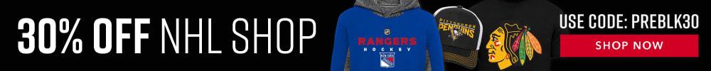 30% Off NHL SHOP PREBLK30