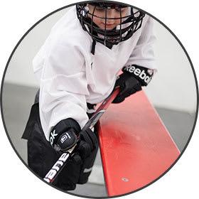 learn to play hockey sticks